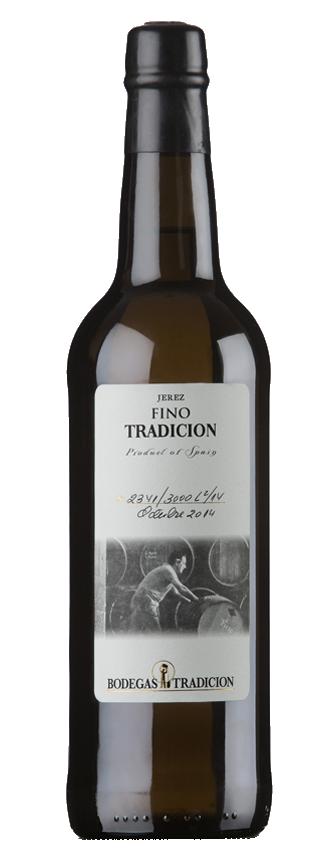 Botella Vino Fino de Bodegas Tradición